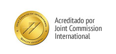 Acreditado por Joint Commission International
