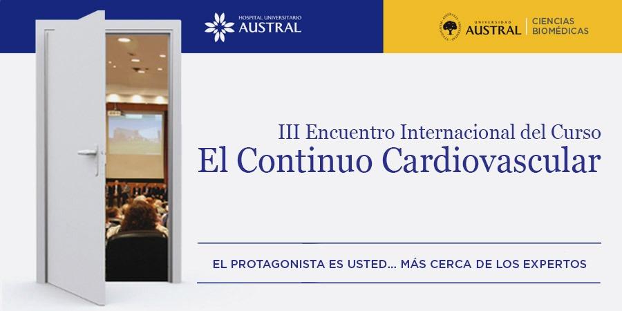 III Encuentro Internacional del Curso El Continuo Cardiovascular